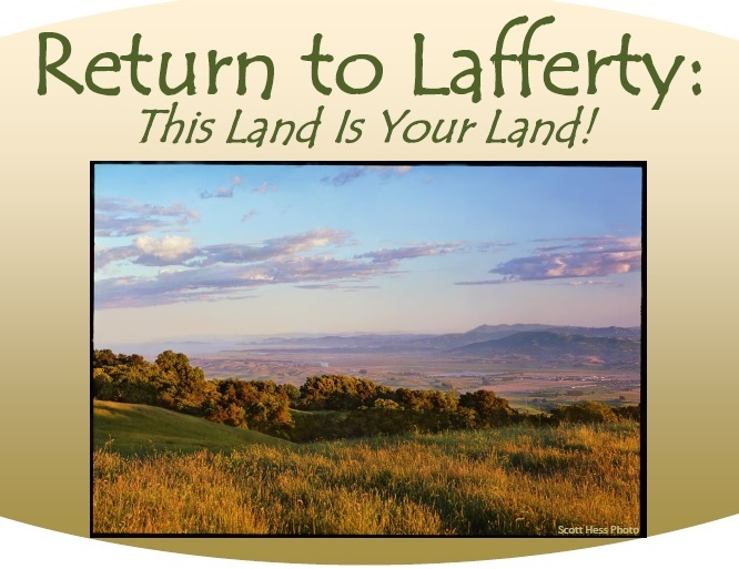 This land poster header